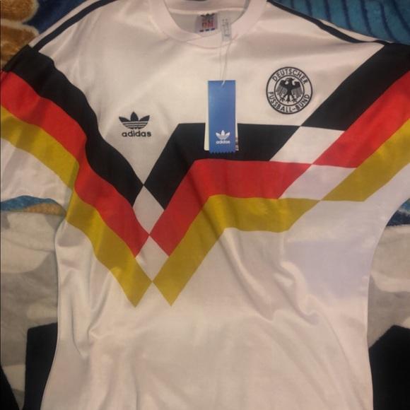 more photos f1ab7 b38cb Adidas Originals Germany jersey 1990 world cup